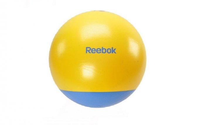 Гимнастический мяч двухцветный